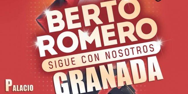Berto Romero sigue con nosotros en Granada