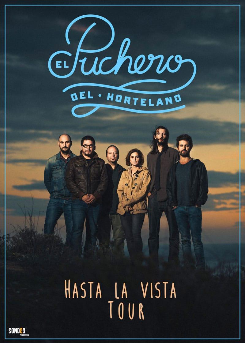 último concierto Granada hasta la vista tour el puchero del hortelano