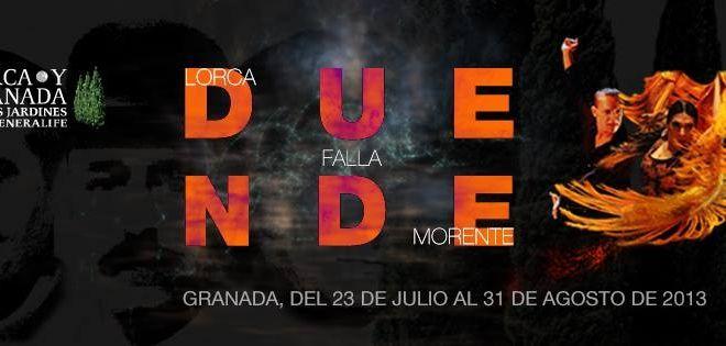 Entradas para Duende. Lorca y Granada