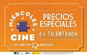 Centros Comerciales Cinema 2000 - Miércoles al cine