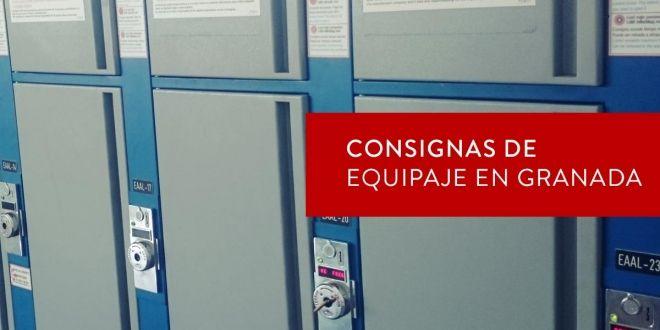 Consignas de equipaje en Granada
