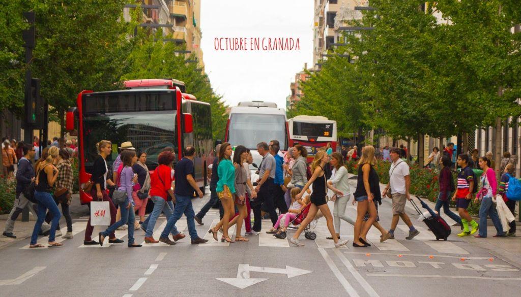 Conciertos, Festival y actividades culturales durante Octubre en Granada