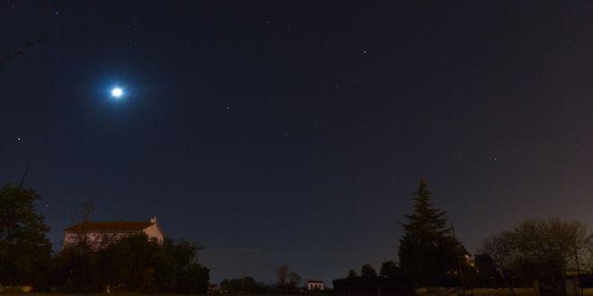 Lluvia de estrellas desde Granada