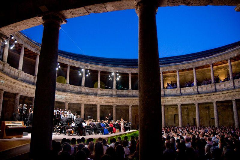 Sinfónica en el Palacio de Karel V