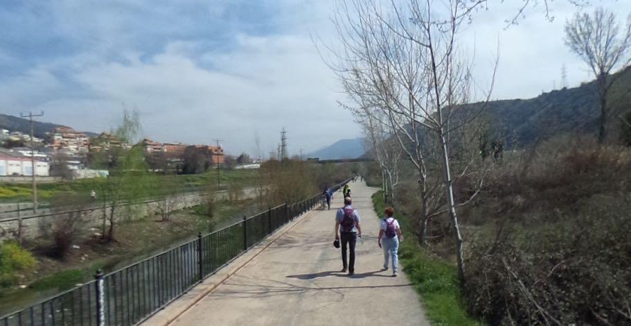 Paseo Fuente de la bicha Granada