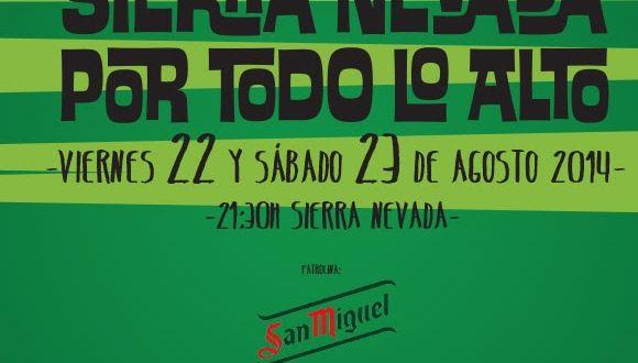V Festival Sierra Nevada por Todo lo Alto Granada