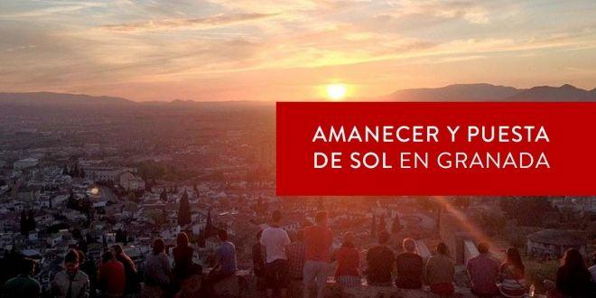 Amaneceres y puestas de sol en Granada