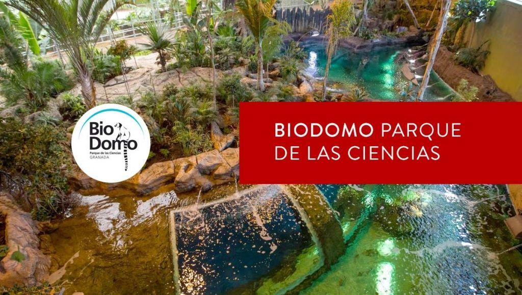 biodomo del parque de las ciencias de Granada
