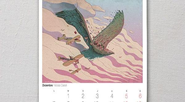 calendario solidario cuarenta patas granada