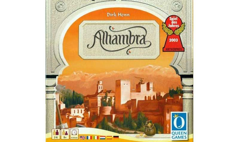 Carcassonne Alhambra Granada