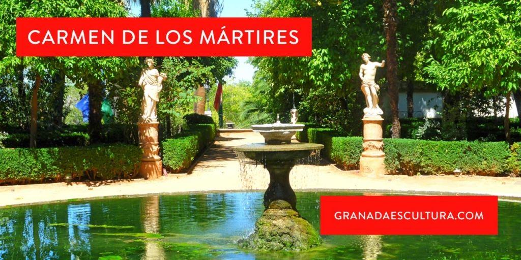 Carmen de los mártires en Granada