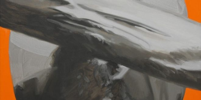 dostoievsky doppelgänger 2014 óleo sobre lienzo