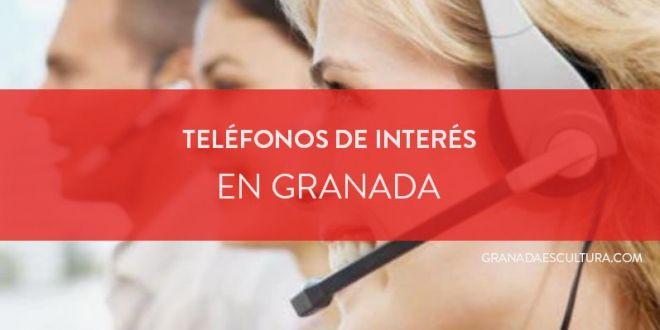 Teléfonos de interés e información en Granada