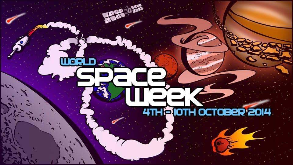 world space week Granada 2014